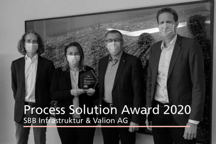 Gewinner Process Solution Award 2020